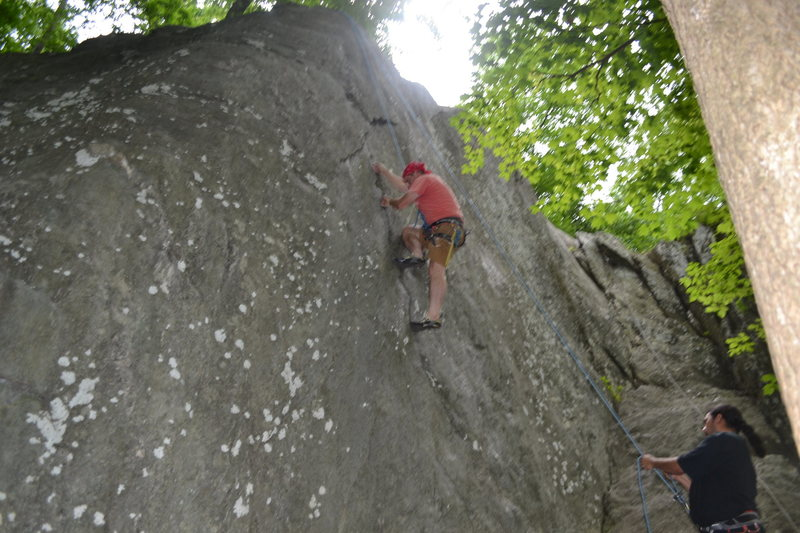 Rock Climbing Photo: Toproping Spider Walk  Photo: Jeydon Zambrano