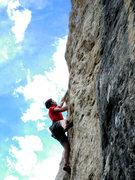 Rock Climbing Photo: Austin on Mohican