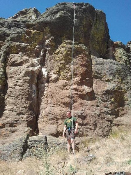 """Rock Climbing Photo: Since it's TR, it's arguably not a """"first asc..."""