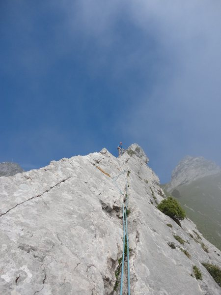 Rock Climbing Photo: The first ridge/tower