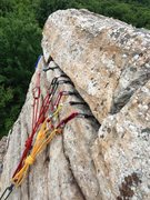 Rock Climbing Photo: Gear Anchor
