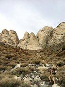 Rock Climbing Photo: Approach.