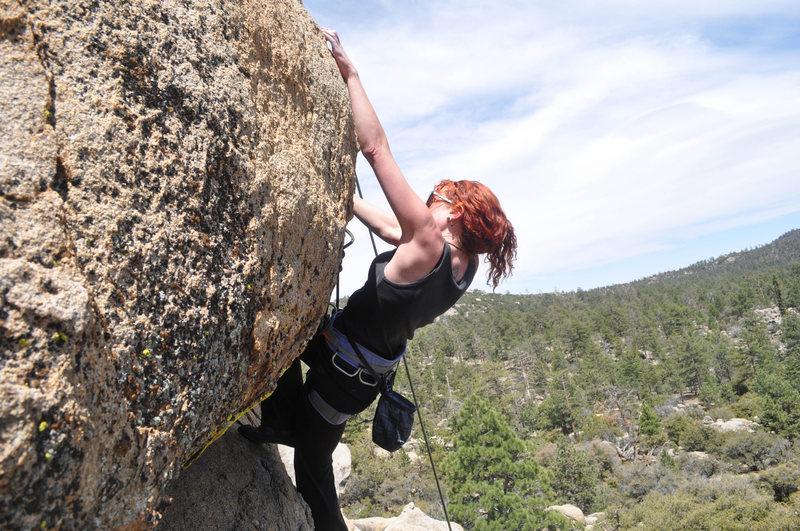 Rock Climbing Photo: moments before an involuntary Sharma yell