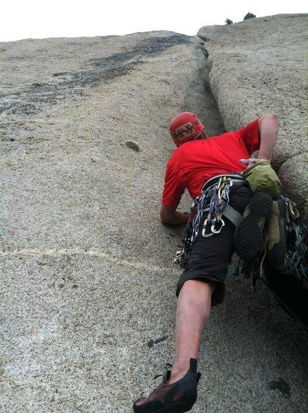 Rock Climbing Photo: Pitch 8. Super fun!