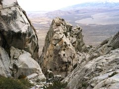 Rock Climbing Photo: descent...