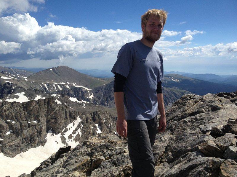 Rock Climbing Photo: Summit of South Arapahoe Peak