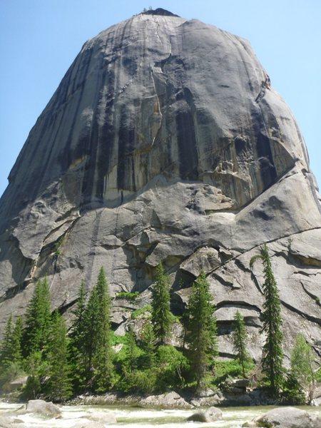Rock Climbing Photo: Divine Bell.