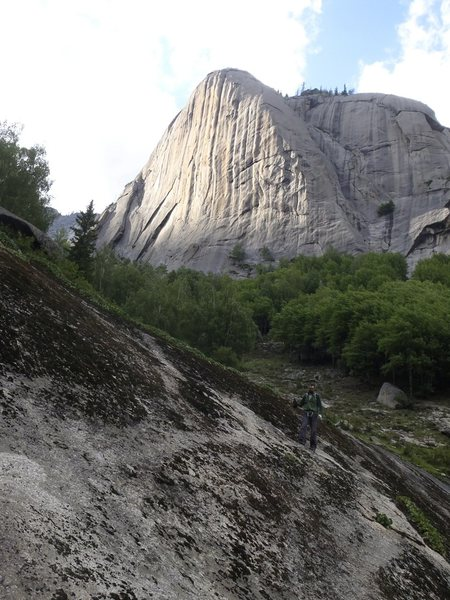 Rock Climbing Photo: Elephant's Trunk 象鼻峰
