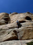 Rock Climbing Photo: Still granite, with rounded horizontals
