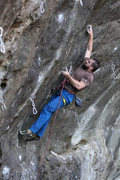 Rock Climbing Photo: Elijah on what is probably Santa Maria's finest ro...