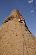 Lead climber on Power conspiracy
