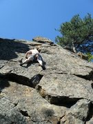 Rock Climbing Photo: Figure it out later