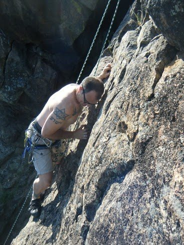 Rock Climbing Photo: Emigrant Lake