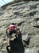 Rock Climbing Photo: Toproping at Stoney.