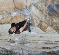 Rock Climbing Photo: Legacy (5.11a), Endless Wall, New River Gorge