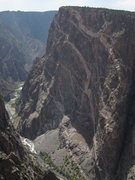 "Rock Climbing Photo: Taken from the ""Painted Wall"" viewpoint ..."
