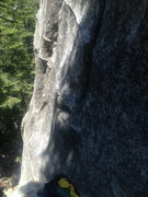 Rock Climbing Photo: Getting the 5.6 start...