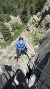 Rock Climbing Photo: Upper Geezer Gully