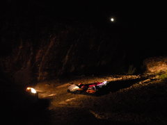 Rock Climbing Photo: Camping behind The Red Monster at Ibex