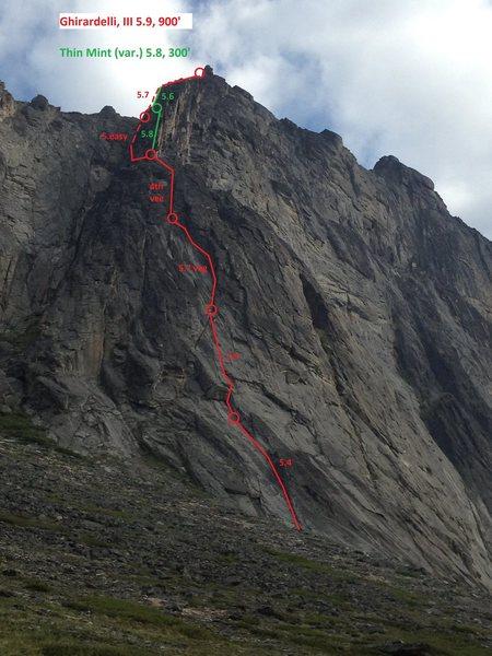 Rock Climbing Photo: Photo-topo
