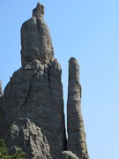 Rock Climbing Photo: Javelin. Spire One on left.