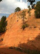 Rock Climbing Photo: Red Rock Canyon. The 5.6 at