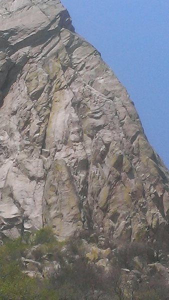 Rock Climbing Photo: East face