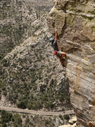 Rock Climbing Photo: Independence Day on Mt. Lemmon. Also, my first 5.1...