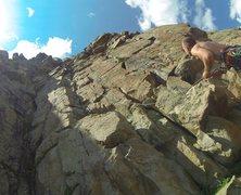 Rock Climbing Photo: route photo