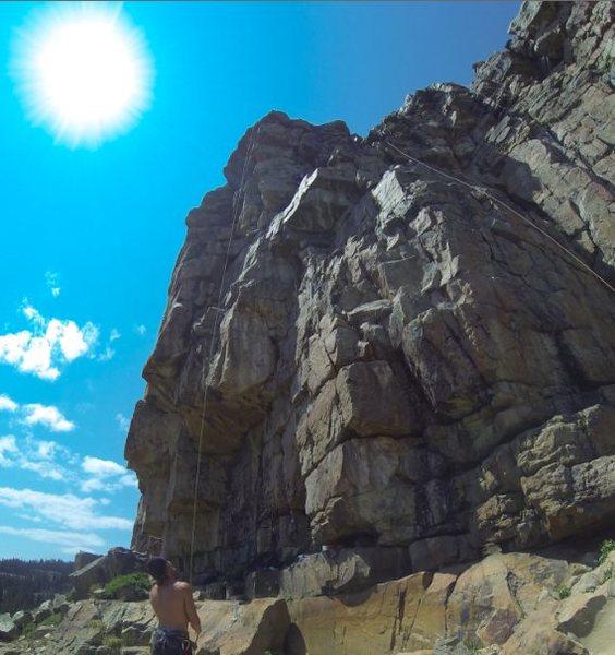 Rock Climbing Photo: crag photo