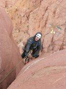Rock Climbing Photo: Getting higher.