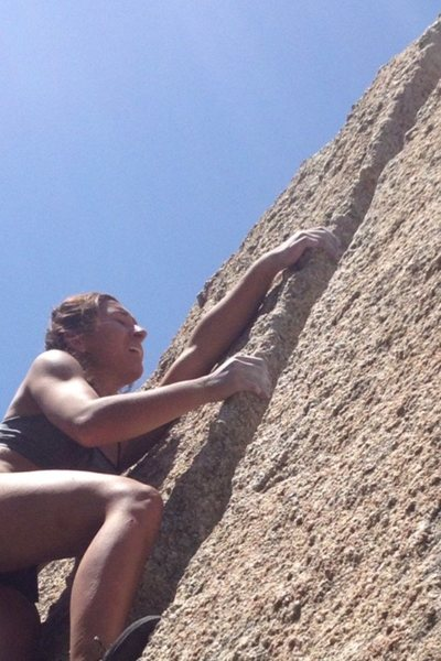 "Rock Climbing Photo: ""I don't want to do this anymore please don't..."