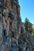 Rock Climbing Photo: Climbing near Cecret Lake