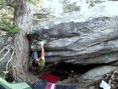 Rock Climbing Photo: Nate being Nate
