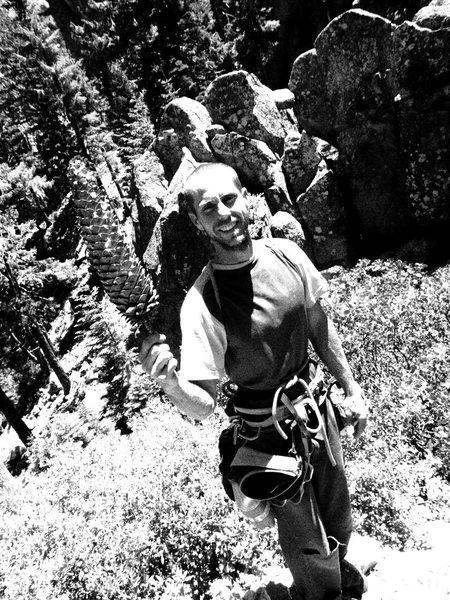 Rock Climbing Photo: John Roark.  Big cone.