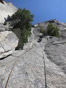 Rock Climbing Photo: Kurt Prond leading up P3, SFWC