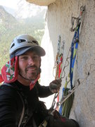 Rock Climbing Photo: hanging out at the belay above the Kor Roof, SFWC