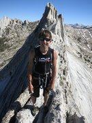 Rock Climbing Photo: The man, Joel Morse, Matthes Crest