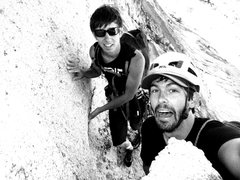 Rock Climbing Photo: Gripped on Matthes Crest