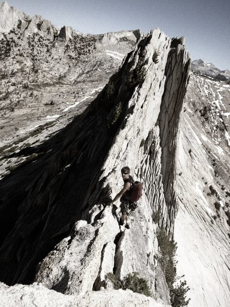 Rock Climbing Photo: Matthes Crest