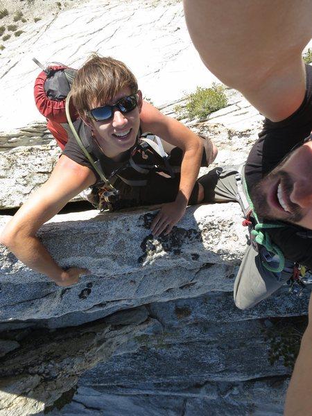Rock Climbing Photo: Good times, Matthes Crest