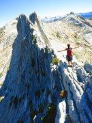 Rock Climbing Photo: Joel Morse, Matthes Crest