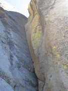 Rock Climbing Photo: The great 5.9 pitch, White Punks on Dope