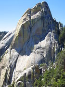 Rock Climbing Photo: The east face of The Warlock.  Home to Romantic Wa...