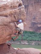 Rock Climbing Photo: move