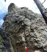 Rock Climbing Photo: Doody Direct crack start