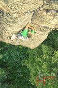 Rock Climbing Photo: J.Snyder on FA of Jangala
