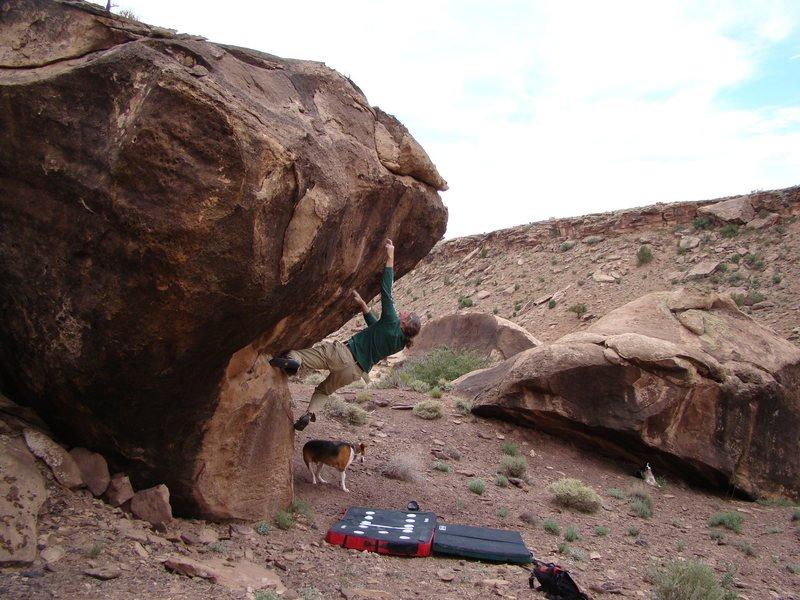 Rock Climbing Photo: Bouldering Chinle / Many Farms AZ