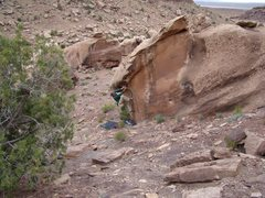 Rock Climbing Photo: Chinle AZ bouldering