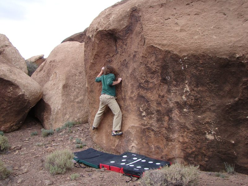 Rock Climbing Photo: Chinle AZ